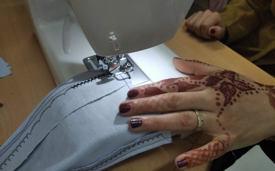 Comencem les classes de costura!