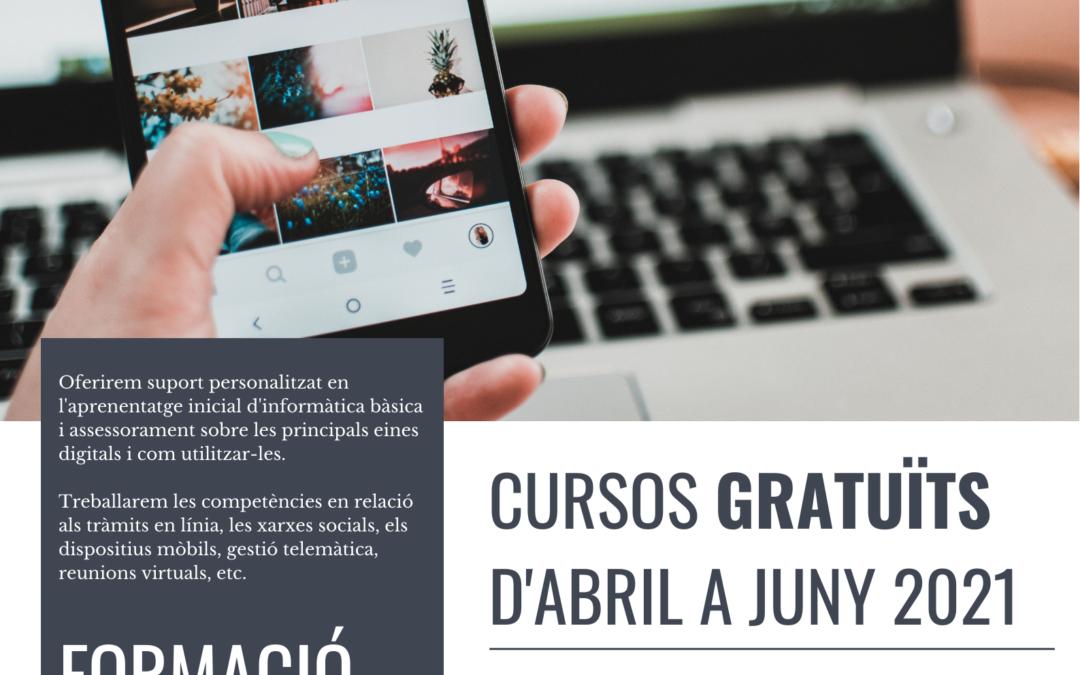 NOUS CURSOS!! FORMACIÓ EN COMPETÈNCIES DIGITALS